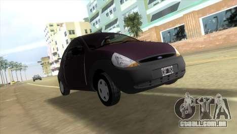 Ford Ka para GTA Vice City deixou vista