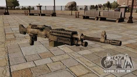 Metralhadora M240 propósito geral para GTA 4