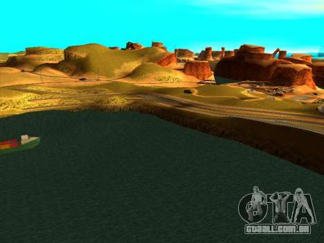 ENBSeries with View Distance para GTA San Andreas sétima tela