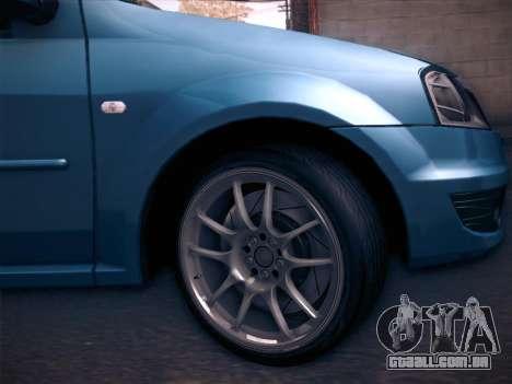 Dacia Logan GrayEdit para GTA San Andreas vista direita