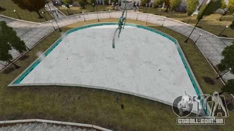 Água congelada para GTA 4 quinto tela