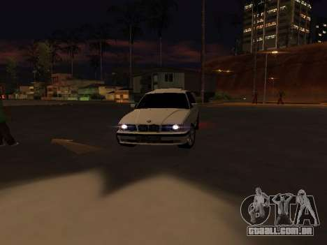 BMW 525 E34 para GTA San Andreas vista interior