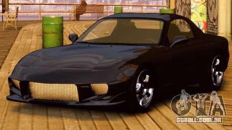 Mazda RX-7 FD 1999 para GTA 4 traseira esquerda vista