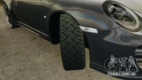Porsche 911 Sport Classic 2010 para GTA 4 vista lateral
