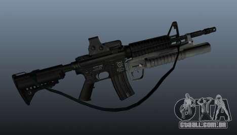 Carabina automática M4A1 v3 para GTA 4 terceira tela