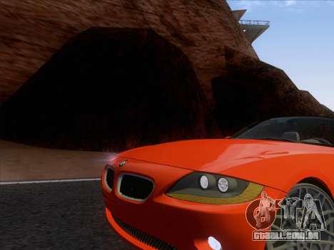 BMW Z4 Edit para GTA San Andreas esquerda vista