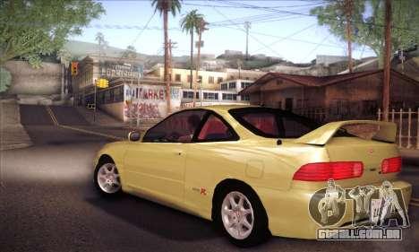 Honda Integra Drift para GTA San Andreas esquerda vista