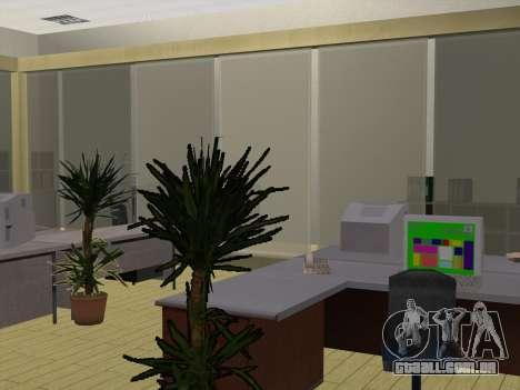 Novas texturas Interior da prefeitura para GTA San Andreas por diante tela