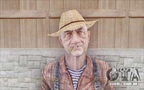 Agricultor para GTA San Andreas segunda tela