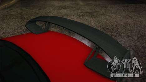 Mercedes-Benz SL65 AMG Racing Edition para GTA San Andreas vista direita