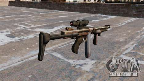 A submetralhadora Thompson 2009 para GTA 4 segundo screenshot