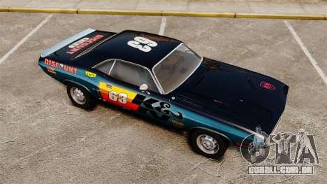 Dodge Challenger 1971 v1 para GTA 4 interior