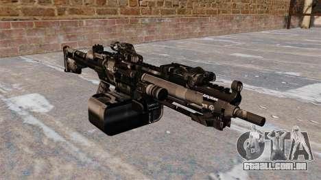 Metralhadora de uso geral HK23E para GTA 4