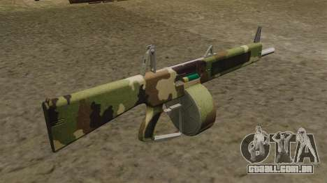 O AA-12 shotgun v2 Camo para GTA 4 segundo screenshot