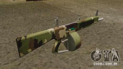 O AA-12 shotgun v2 Camo para GTA 4 segundo screenshot
