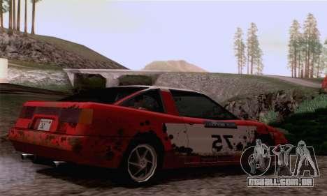 Uranus Rally Edition para GTA San Andreas vista direita