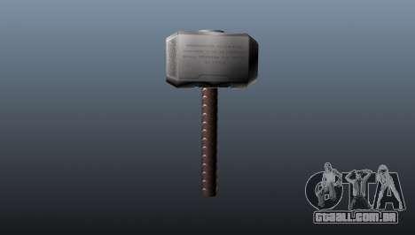 O martelo de Thor para GTA 4 segundo screenshot