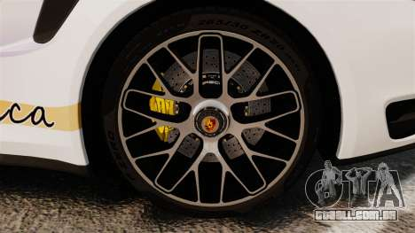 Porsche 911 Turbo 2014 [EPM] America para GTA 4 vista de volta