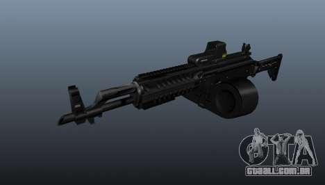 Atirador tático AK-47 para GTA 4