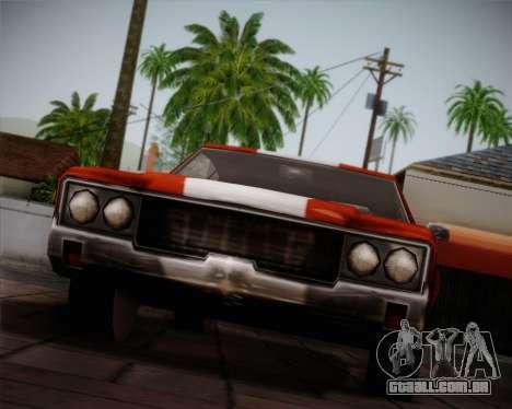 Sabre Turbo para GTA San Andreas