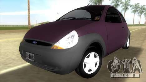 Ford Ka para GTA Vice City
