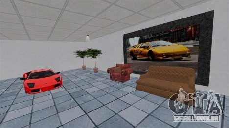 Exposição de carros Lamborghini para GTA 4 sexto tela