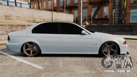 BMW M5 E39 2003 para GTA 4 esquerda vista