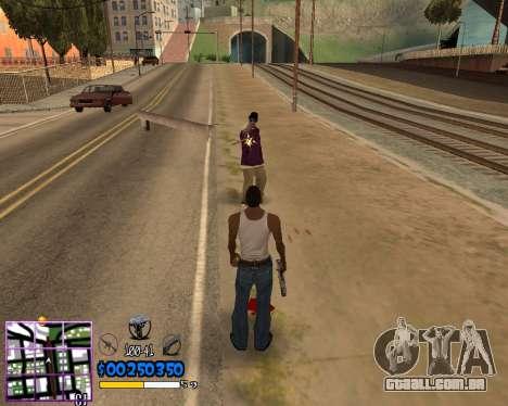 C-HUD by Dony Scofield para GTA San Andreas
