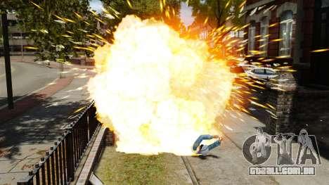 Balas explosivas para GTA 4 terceira tela
