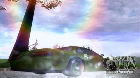 Nissan Onevia Shark para GTA San Andreas vista direita