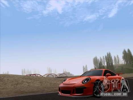 Porsche 911 GT3 2014 para GTA San Andreas