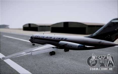 McDonnel Douglas DC-9-10 para GTA San Andreas