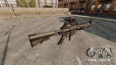 Assault rifle-Colt AR-15 para GTA 4 segundo screenshot