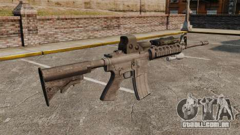 M4 carbine SOPMOD v3 para GTA 4 segundo screenshot