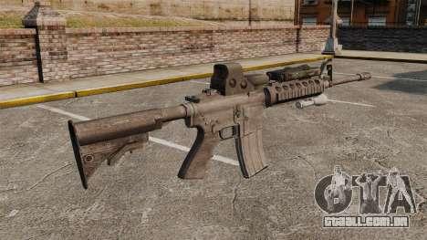 M4 carbine SOPMOD v3 para GTA 4 segundo screenshot