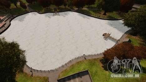 Água congelada para GTA 4 segundo screenshot