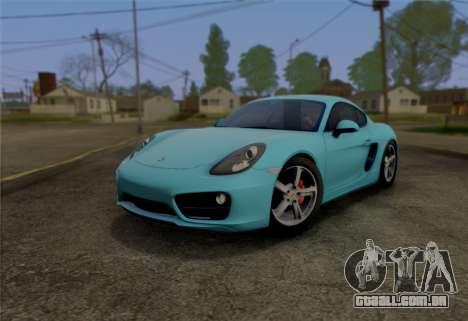 SA_graphics v. 1 para GTA San Andreas por diante tela