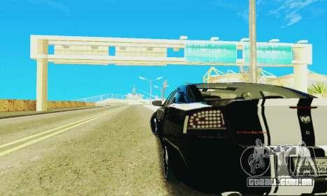 Dodge Charger DUB para GTA San Andreas vista interior