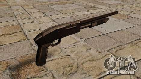 Shotgun da bomba-ação Mossberg 500 para GTA 4 segundo screenshot