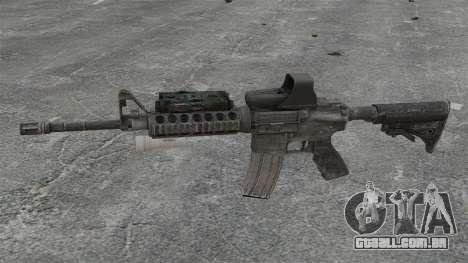 M4 carbine SOPMOD v3 para GTA 4 terceira tela