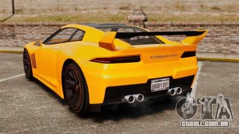 GTA V Inuetero Coquette Hardtop DTD para GTA 4 traseira esquerda vista