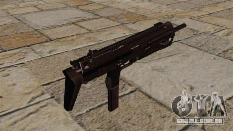 Pistola-metralhadora HK MP7 para GTA 4 segundo screenshot