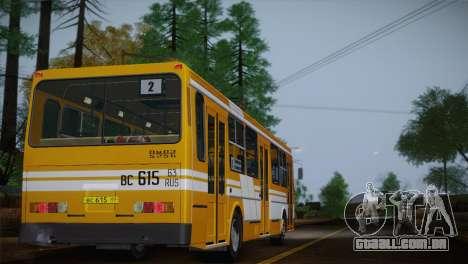 LIAZ 5256.00 para as rodas de GTA San Andreas