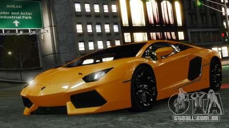 Lamborghini Aventador LP700-4 [EPM] 2012 para GTA 4 interior
