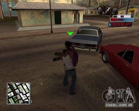 C-HUD by Braun para GTA San Andreas terceira tela