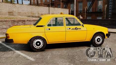 Gaz-31029 táxi para GTA 4 esquerda vista