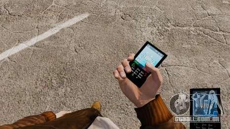 O tema para o telefone azul Whiz para GTA 4