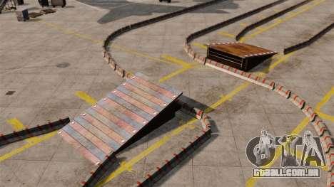 Airport RallyCross Track para GTA 4 quinto tela