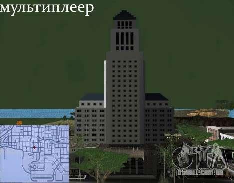Novas texturas Interior da prefeitura para GTA San Andreas twelth tela