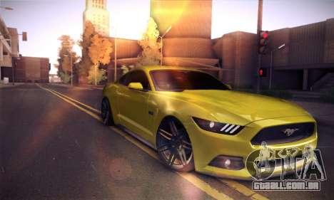 Ford Mustang 2015 Swag para GTA San Andreas